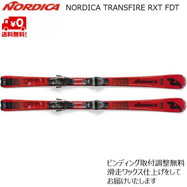 ノルディカ スキー NORDICA TRANSFIRE RTX FDT + TP2 COMPACT 10 FDT 0A931900-001