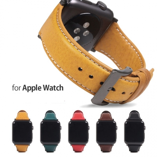 SLG Design Apple Watch バンド Italian Minerva Box Leather 44mmSeries 4, 5 対応 42mmSeries 1, 2, 3 対応 SD18388AW SD18390AW SD18391AW SD18392AW