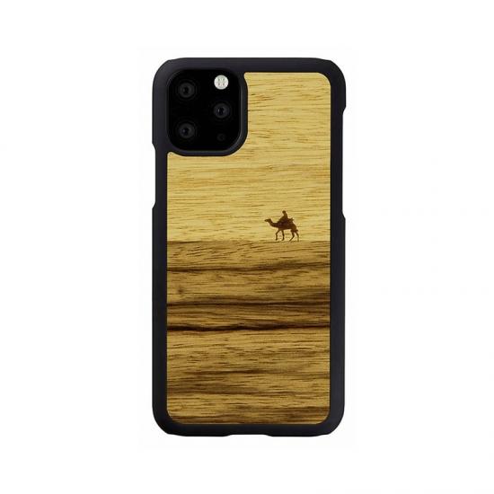 Man Wood I16851i65R iPhone 11 Pro 6.5インチ 毎日続々入荷 天然木ケース 豊富な品 Terra 世界中のいろいろな木の素材から作られたナチュラルでおしゃれなケース Max