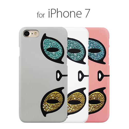 <GAZE(ゲイズ)>【iPhone 8/7 4.7インチ】 Kuncat X Gaze Swarovski Odd-eye(クンキャットエックス スワロフスキーオッドアイ) GZ8022i7 GZ8023i7 GZ8024i7
