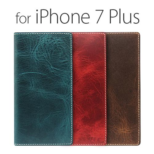 <SLG Design >【iPhone 8 Plus/ 7 Plus 5.5インチ】手帳型 Badalassi Wax case バダラッシーワックスケース 品質高いレザーを使用SD8148i7P