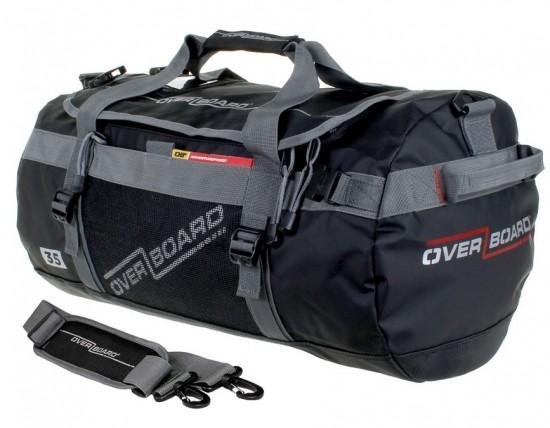 <国内正規品>OVER BOARD (オーバーボード) 防滴/耐候性 アドベンチャー ダッフルバッグ 35L OB1091BLK OB1091WHT
