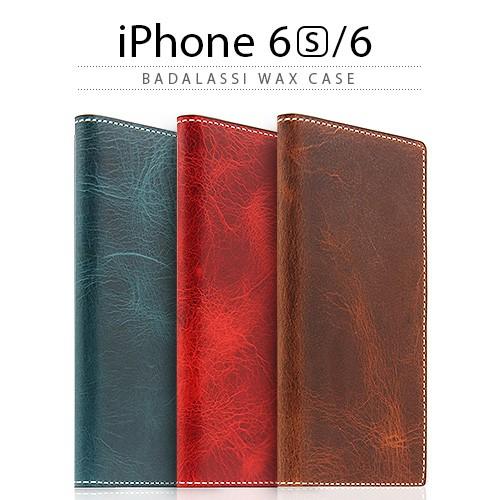 <SLG Design> 【iPhone6s/iPhone6 4.7インチ】 手帳型 Badalassi Wax case(エスエルジーデザイン バダラッシーワックスケース) SD6675iP6S SD6676iP6S