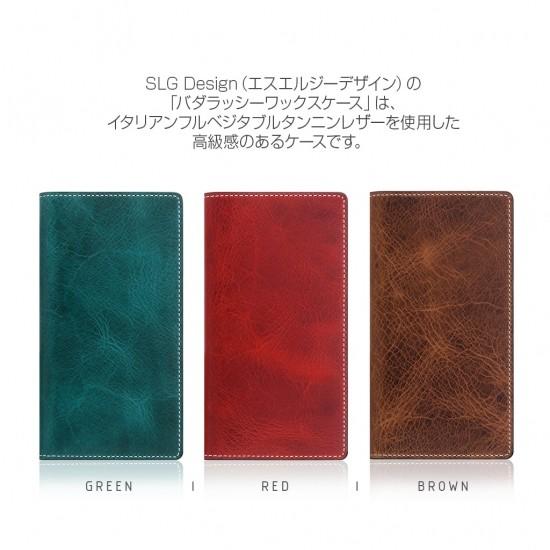 <SLG Design>【iPhone XR 6.1インチ】 手帳型 Badalassi Wax case バダラッシ・カルロ社社の品質高いレザーを使用した贅沢なiPhoneケース SD13690i61