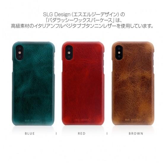 <SLG Design>【iPhone XS Max 6.5インチ】 Badalassi Wax Bar case 本革 バダラッシ・カルロ社社の品質高いレザーを使用 SD13731i65 SD13732i65