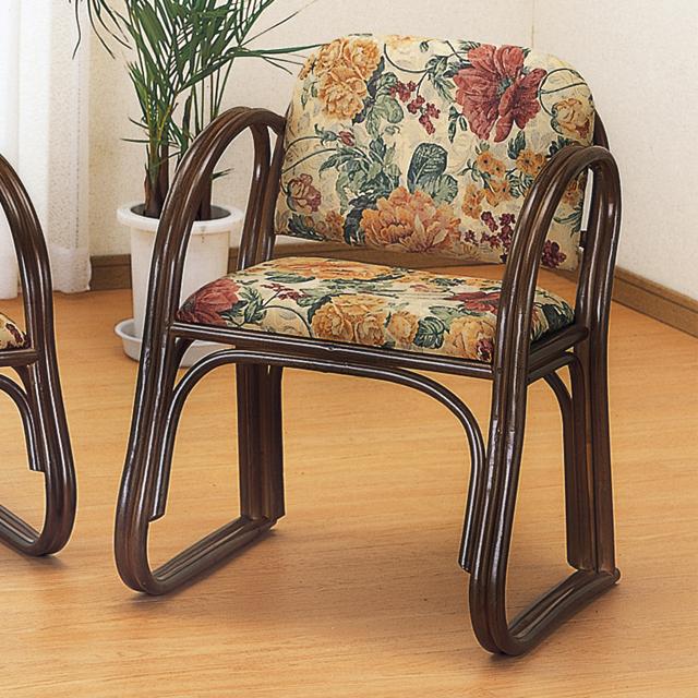 【送料無料(一部地域除く)】 正座椅子 背もたれ 幅広 ハイタイプ 籐 ラタン 座椅子 足がしびれない 正座イス S-106B (250824) rattan【IE】
