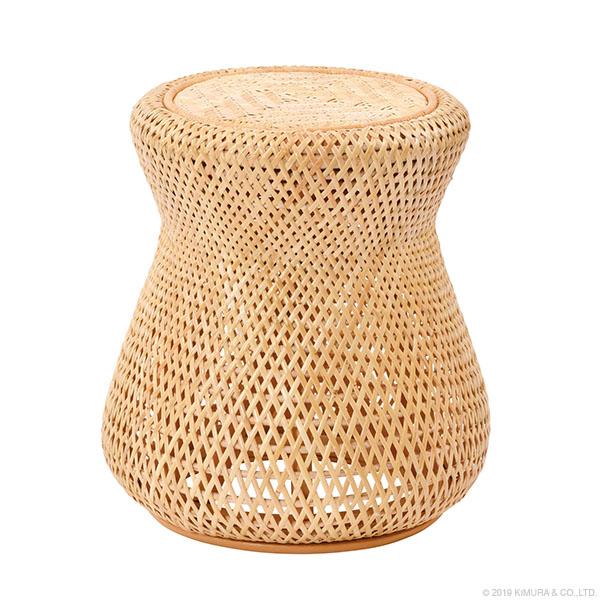 【送料無料(一部地域除く)】ラタン ナチュラル スツール BREEZE C448ND (50614) ラタンチェア スツール 籐スツール 籐椅子 籐の椅子 籐家具 ラタン家具【RW】