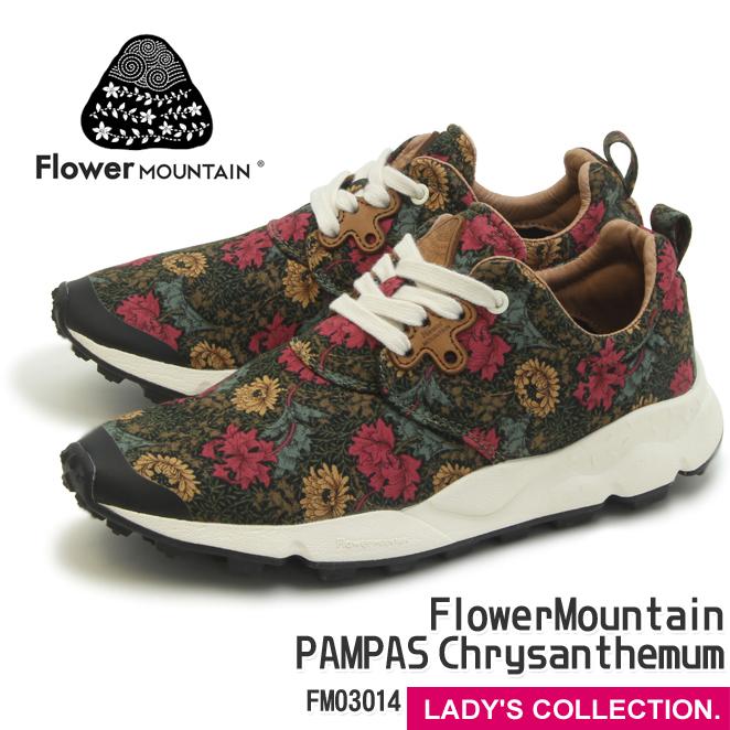 送料無料【フラワーマウンテン】FlowerMountain PAMPAS Chrysanthemum FM03014 BLACK/RED (パンパス クリサンセマム ブラック/レッド) ユニセックス・レディースサイズ