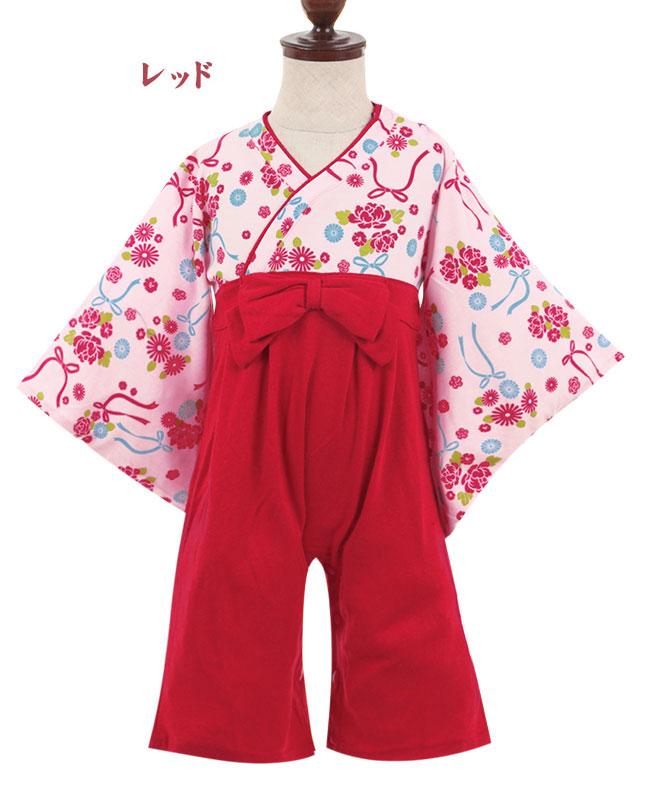 Manhattan Store Rakuten Global Market Japanese Priestess Miko Clothes Style Baby Rompers
