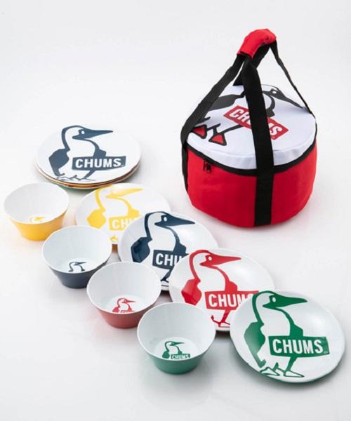 【送料無料】チャムス CHUMS メラミンディッシュセットMELAMINE DISH SETカラー:Booby品番:CH62-1237
