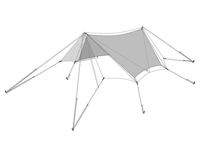【送料無料】スノーピーク snowpeak たきび TAKIBIタープ オクタ インナールーフ 品番:TP-430-1