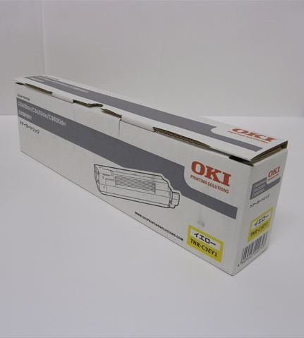 OKI 沖データ大容量トナーカートリッジイエロー TNR-C3EY1【純正品】【わけ有り】箱汚れ/ダメージ