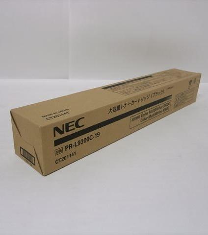 NEC大容量トナーカートリッジPR L9300C 19 ブラック純正品わけ有り 箱汚れ ダメージoCBedx