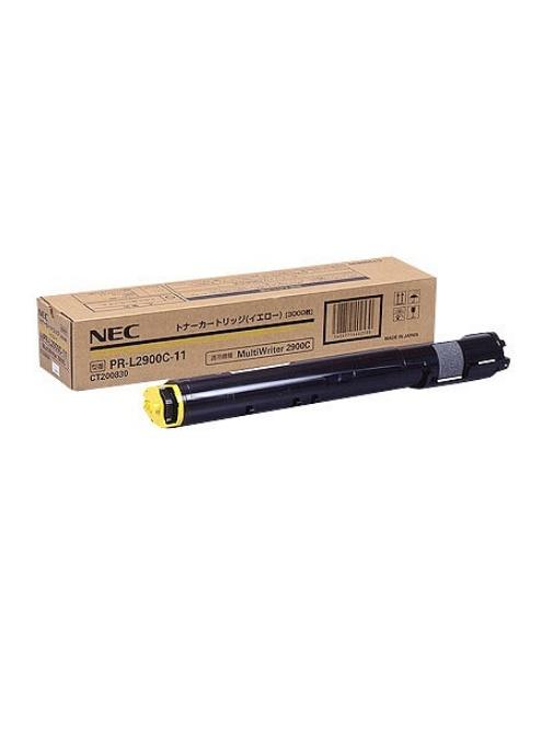 NEC トナーカートリッジ(イエロー) PR-L2900C-11(1個)【純正品】[送料無料]