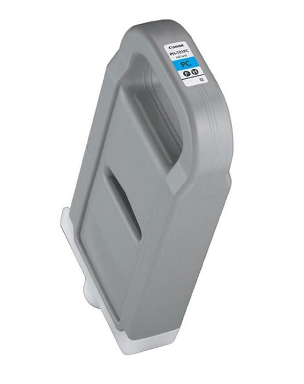 Canon キヤノン インクジェットカートリッジ PFI-701PC フォトシアン(1個)【純正品】[送料無料]