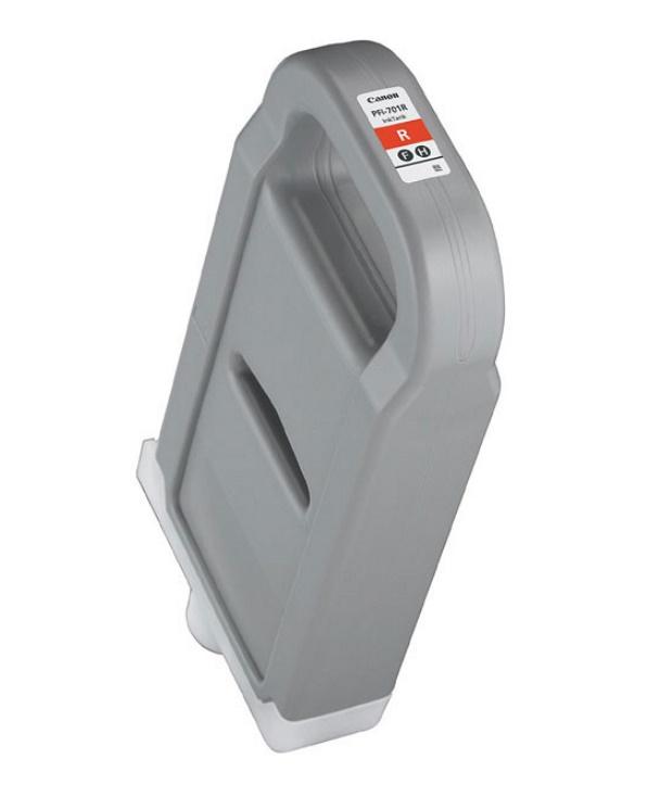 Canon キヤノン インクジェットカートリッジ PFI-701R レッド(1個)【純正品】[送料無料]