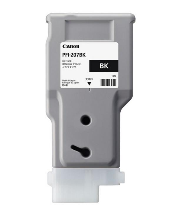 Canon キヤノン インクジェットカートリッジ(ブラック) PFI-207 BK(1個)【純正品】[送料無料]