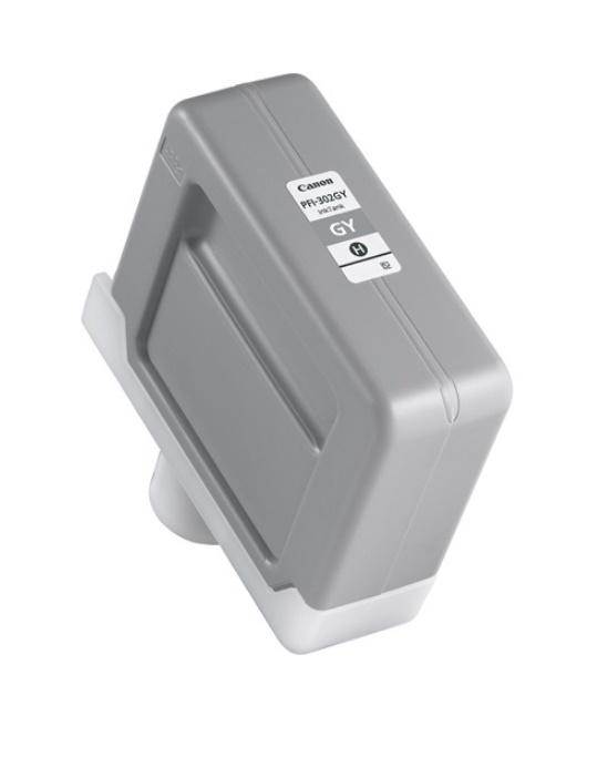 Canon キヤノン インクジェットカートリッジ PFI-302GY グレー(1個)【純正品】[送料無料]