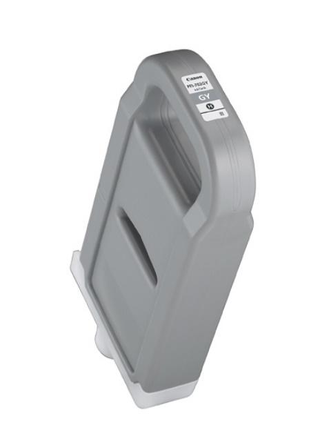 Canon キヤノン インクジェットカートリッジ PFI-702GY グレー(1個)【純正品】[送料無料]