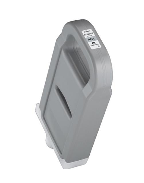 Canon キヤノンインクジェットカートリッジPFI-702PGY フォトグレー(1個)【純正品】[送料無料]