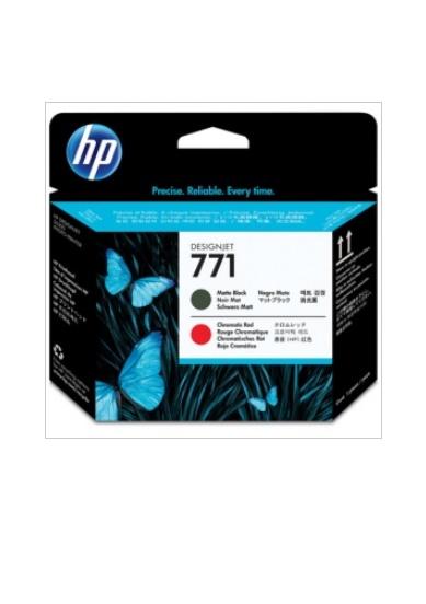 HP HP771 プリントヘッド(マットブラック/クロムレッド) CE017A(1個)【純正品】[送料無料]