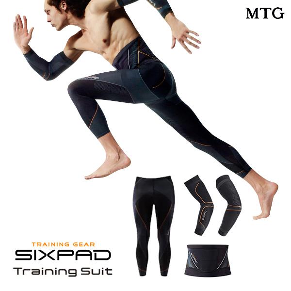 シックスパッド トレーニングスーツ フルセット 【メーカー公式店】 MTG sixpad 着圧 インナーマッスル インナー 着圧補整機能 くびれ ウエストライン 上腕三頭筋