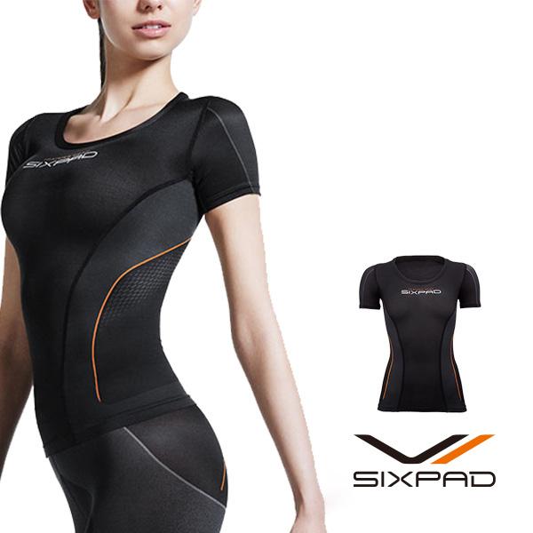 シックスパッド トレーニングスーツ ショートスリーブトップ(WOMEN) 【メーカー公式店】 MTG sixpad 大胸筋 トレーニングウェア インナー
