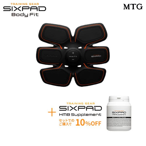 【電池式】 SIXPAD Abs Fit シックスパッド アブズフィット& HMBサプリメント セット 【メーカー公式店】 EMS ロナウド 筋肉 ダイエット 筋トレ 腹筋 トレーニング ※この商品は電池式の商品です。