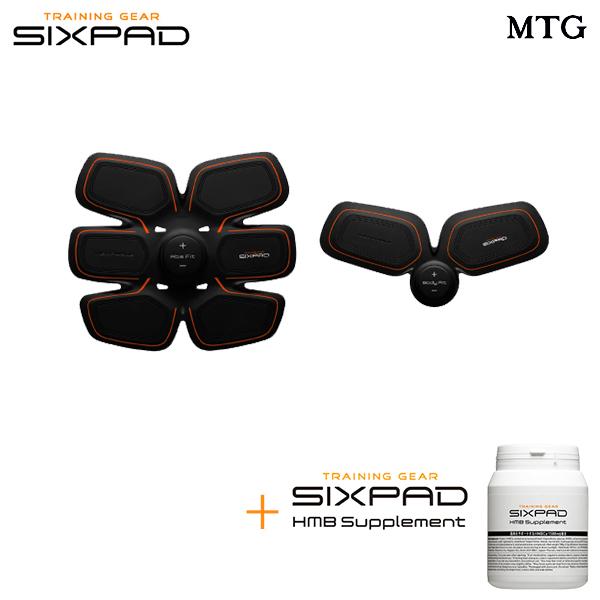 【電池式】 SIXPAD シックスパッド アブズ&ボディ& HMBサプリメント セット 【メーカー公式店】MTG EMS sixpad シックスパック 筋肉 ダイエット 筋トレ 腹筋 エクササイズ トレーニング アブズ ボディ ※この商品は電池式の商品です。
