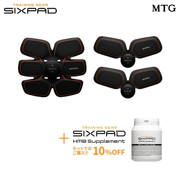 【電池式】 SIXPAD シックスパッド アブズ&ツインボディ& HMBサプリメントセット 【メーカー公式店】MTG EMS sixpad シックスパック ロナウド 筋肉 ダイエット 筋トレ 腹筋 エクササイズ トレーニング ※この商品は電池式の商品です。