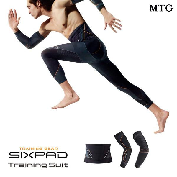 シックスパッド トレーニングスーツ アーム&ウエストセット 【メーカー公式店】 MTG sixpad 着圧 上腕三頭筋 インナーマッスル トレーニングウェア インナー 着圧補整機能 くびれ ウエストライン