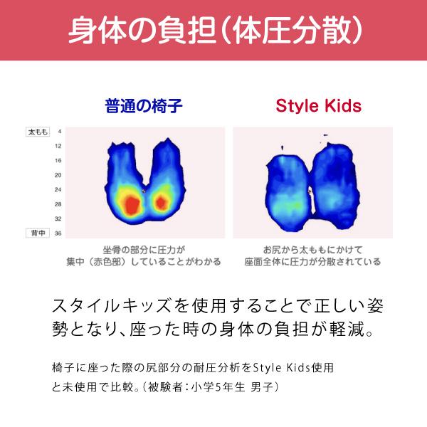 スタイルキッズ Lサイズ style kids L 125~155cm 【ポイント10倍】 【メーカー公式店】 MTG body make seat style ボディメイクシート スタイル 子ども 座椅子 姿勢 P10