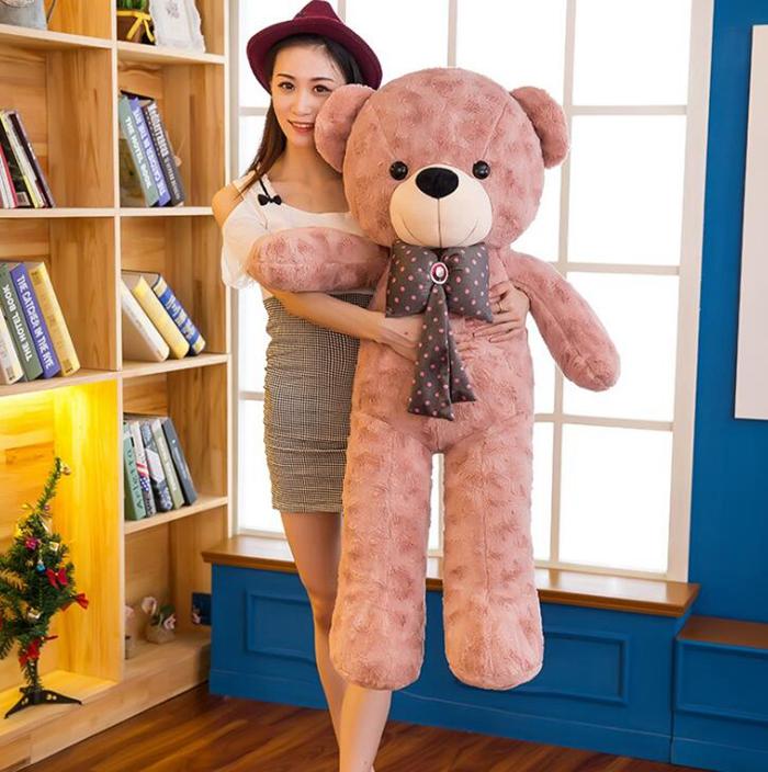 送料無料 ぬいぐるみ クマ かわいい 特大 テディ ベア 大きい クマ の ぬいぐるみ ぬいぐるみ 特大 くま/テディベアー リボン 可愛い 熊 大きい クマ抱き枕/ふわふわぬいぐるみ 140cm 女の子 男の子 子供 女性 ハロウィン クリスマス プレゼント