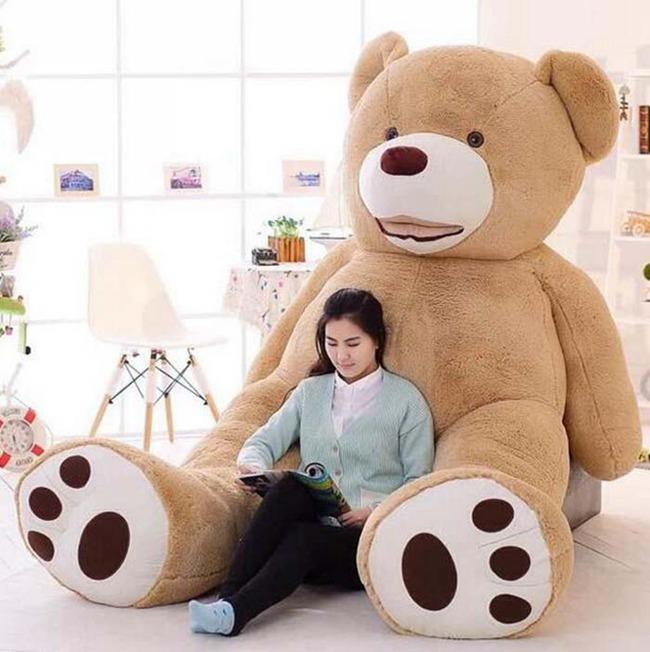 送料無料 ぬいぐるみ 特大 くま/テディベアー 可愛い 熊 大きい クマ抱き枕/ふわふわぬいぐるみ 200cm 女の子 男の子 子供 女性 クリスマス プレゼント