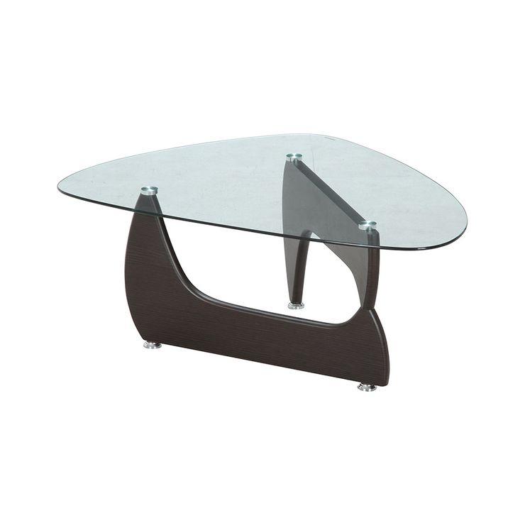 9 1限定 NEW ARRIVAL 10%offクーポン メーカー直送 不二貿易 ガラスセンターテーブル 保障 KNS ルーク 96142 OMEGA-A ウォルナット