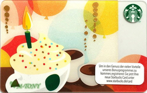 Mtony Rakuten Global Market Starbucks Starbucks Germany Card