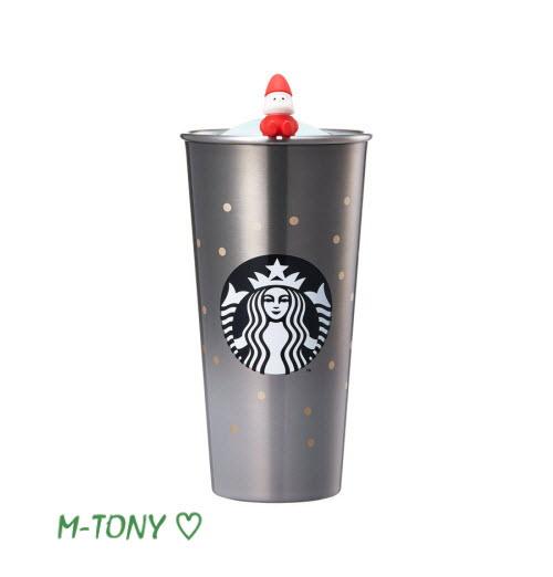 Starbucks スターバックスSS DW ホリデー グレー TO GO タンブラー473ml(16oz)、ギフト包装発送☆海外限定品/日本未発売/スタバ/タンブラー/マグ