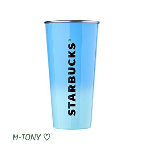 Starbucks スターバックスSS DW ブルーレター TOGO タンブラー473ml(16oz)、ギフト包装/海外限定品/日本未発売/スタバ/タンブラー/マグ/クリスマス/バレンタイン/ハロウィン
