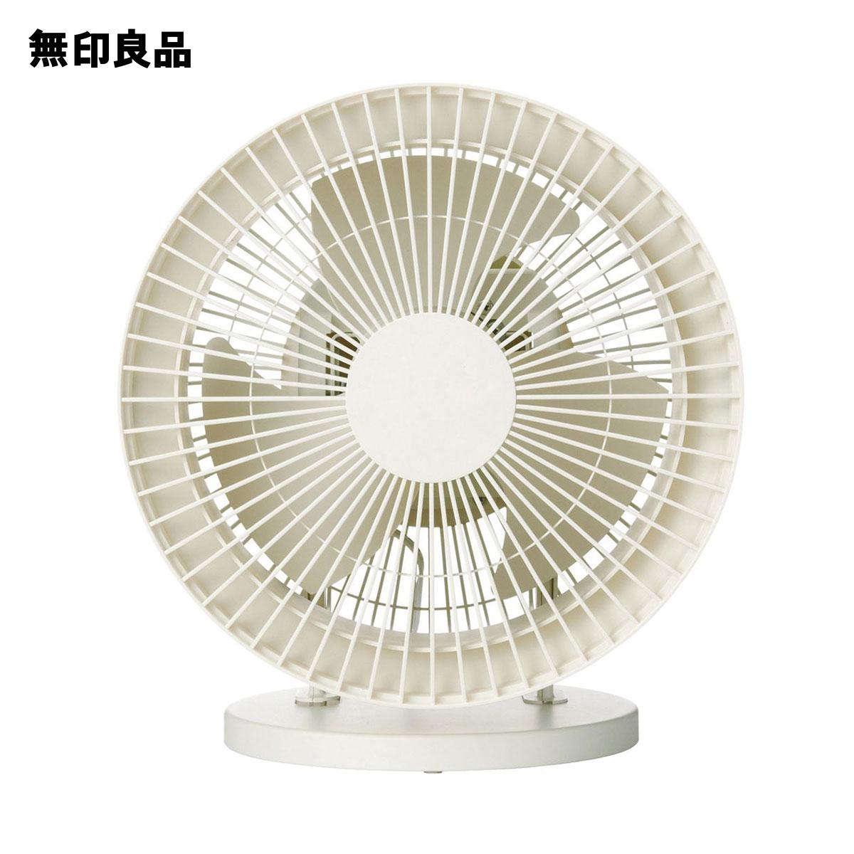 無印良品 公式 至上 海外限定 サーキュレーター ホワイト 大風量タイプ 低騒音ファン