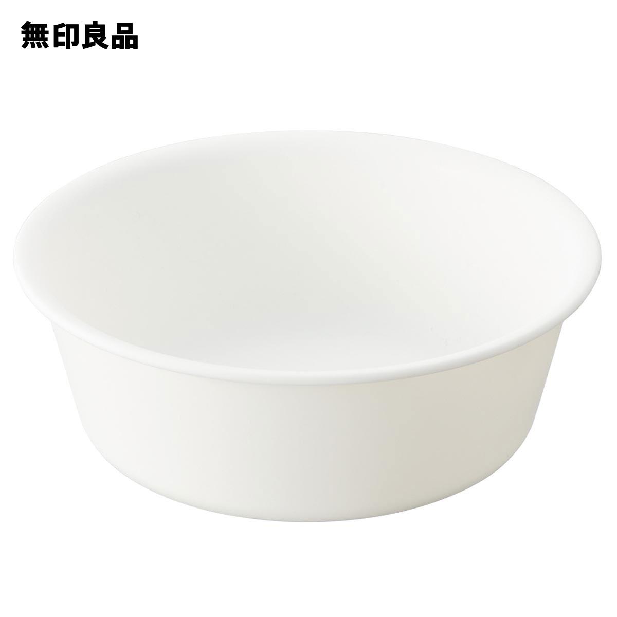 無印良品 公式 完全送料無料 ポリプロピレン湯桶 約直径26×高さ9cm 物品