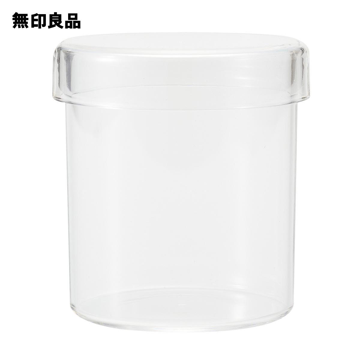 無印良品 公式 ショップ アクリル小物容器約直径90×97mm 気質アップ