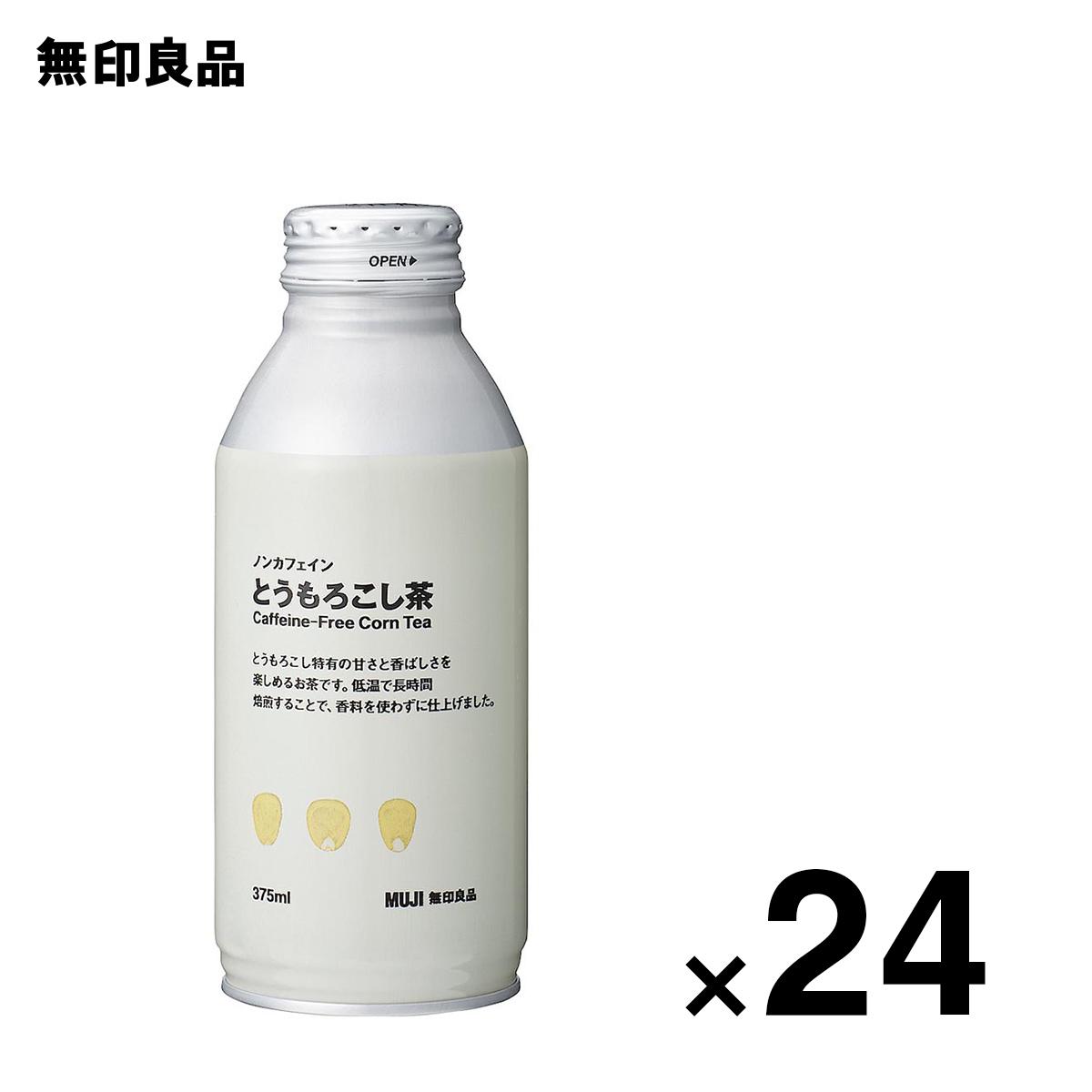 無印良品 公式 ノンカフェイン 375ml24個セット とうもろこし茶 驚きの価格が実現 限定Special Price