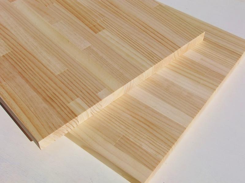 パイン材 集成材 DIY 木材 リフォーム 家具 木工 カウンター 棚板 フリー板 45kg ☆カット注文で出荷します 今人気の何でも作れる多目的な無垢集成板材です ラジアタパイン 商品追加値下げ在庫復活 4200×600×30 Aグレード ●スーパーSALE● セール期間限定 積層材