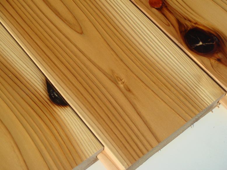 杉 無垢 フローリング 圧密加工 源平・節有 1枚物 自然塗装 150ミリ幅