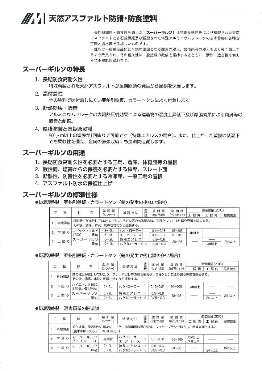 【送料無料】水谷ペイントスーパーギルソブルー 18kg