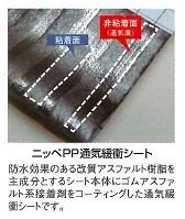 【送料無料】日本ペイントニッペPP通気緩衝シート(1m×15m)