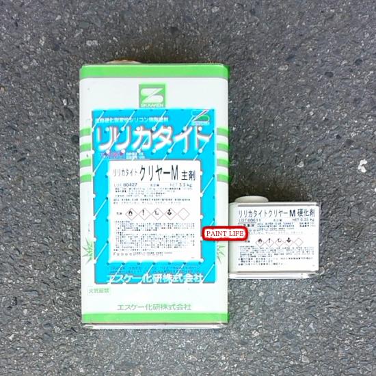 【送料無料】エスケー化研リリカタイトクリヤーM3.75kgセット