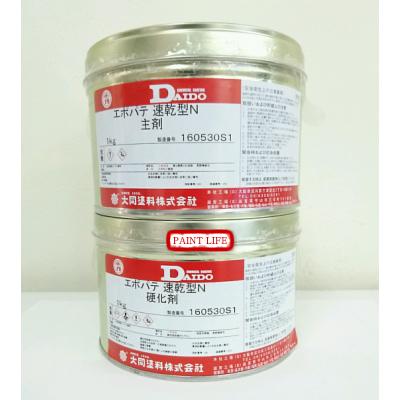【送料無料】大同塗料ユカクリート エポパテ速乾型N2kgセット