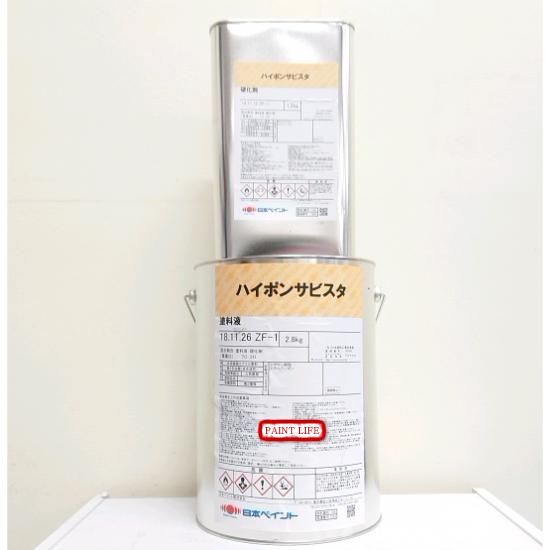 【送料無料】日本ペイントハイポンサビスタ 4kgセット