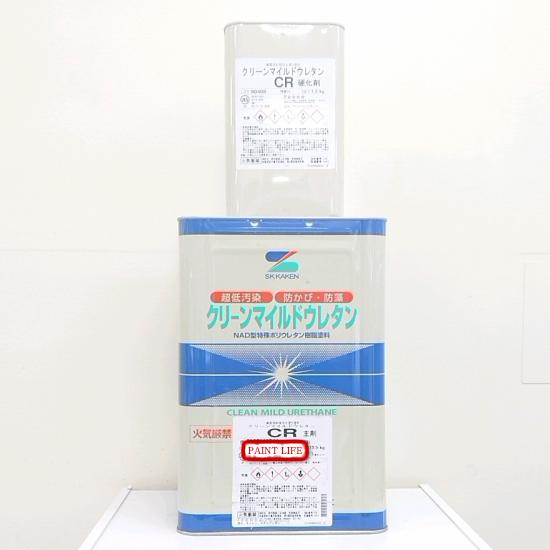 【送料無料】エスケー化研クリーンマイルドウレタンCR白 15kgセット